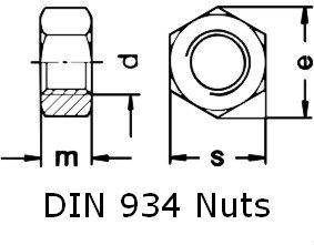 Din 934 Nuts