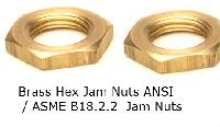 Hex Brass Jam Nuts