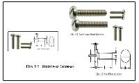 Din 85 Stainless Screws