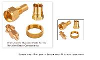 Brass Screw machine parts Screw Machine Components of Brass CNC screw machine parts